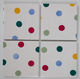 75 x 100mm Ceramic Wall Tiles Made With Emma Bridgewater Polka Dot